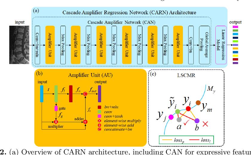 Figure 3 for Direct Automated Quantitative Measurement of Spine via Cascade Amplifier Regression Network