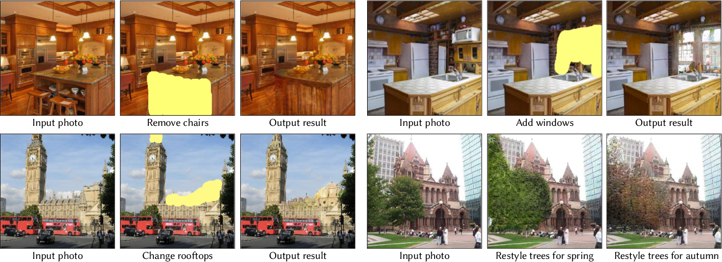 Figure 1 for Semantic Photo Manipulation with a Generative Image Prior