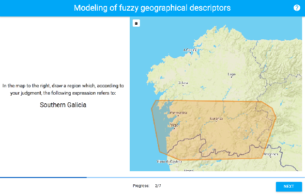 Figure 2 for An Empirical Approach for Modeling Fuzzy Geographical Descriptors