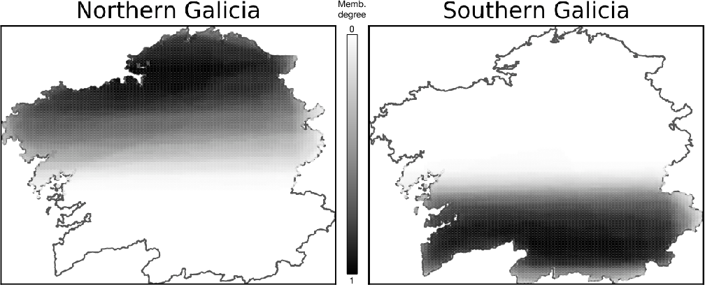 Figure 3 for An Empirical Approach for Modeling Fuzzy Geographical Descriptors