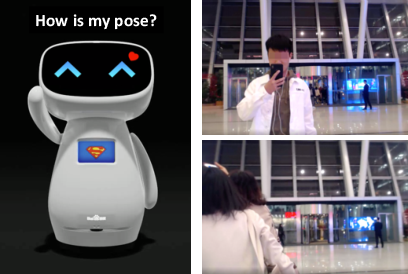 Figure 1 for Proactive Interaction Framework for Intelligent Social Receptionist Robots