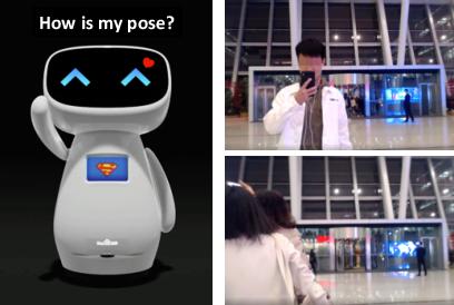 Figure 1 for Proactive Interaction Framework for Intelligent Social Receptionist Robots