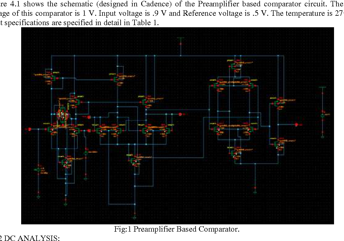 412 Design Of A Novel High Speed Dynamic Comparator With Low Power Voltage Circuits Schematic Dissipation For Adcs Semantic Scholar