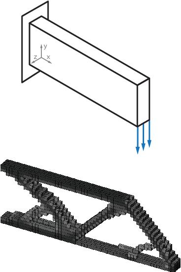 Figure 4 from An efficient 3D topology optimization code written in