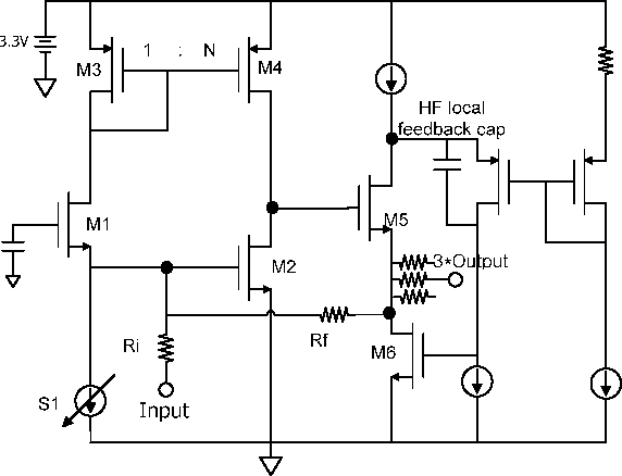 Figure 5 From Wide Band Cmos Loop Through Amplifier For Cable Tv