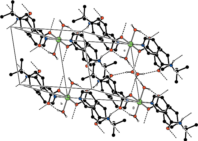 Figure 2 From Crystal Structure Of Diaquabis4 Tert Butylbenzoato O