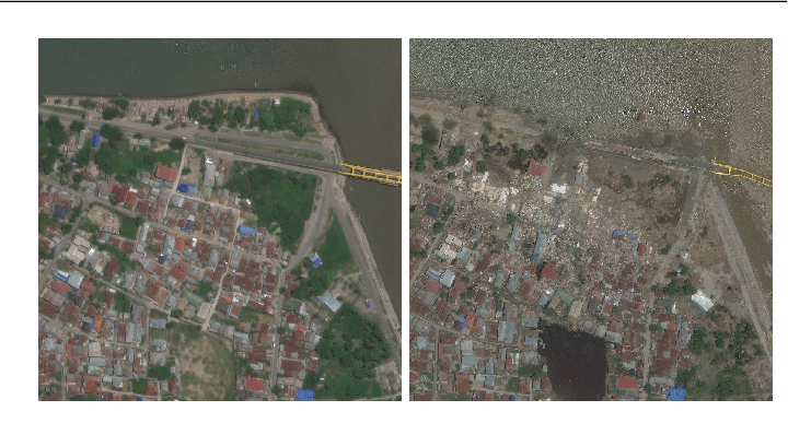 Figure 1 for Deep Learning-based Aerial Image Segmentation with Open Data for Disaster Impact Assessment