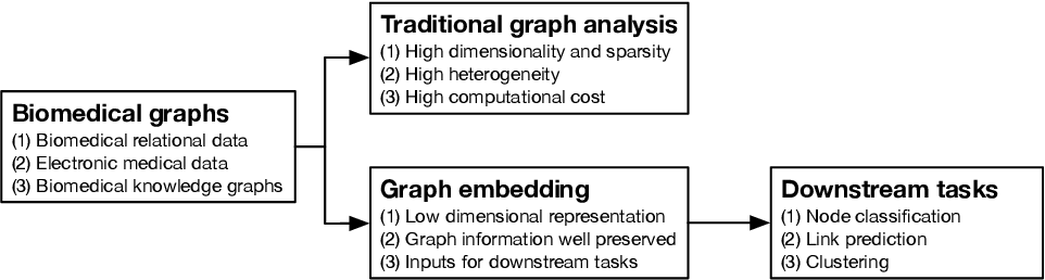 Figure 1 for A Literature Review of Recent Graph Embedding Techniques for Biomedical Data
