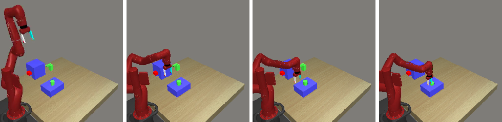 Figure 1 for PixL2R: Guiding Reinforcement Learning Using Natural Language by Mapping Pixels to Rewards