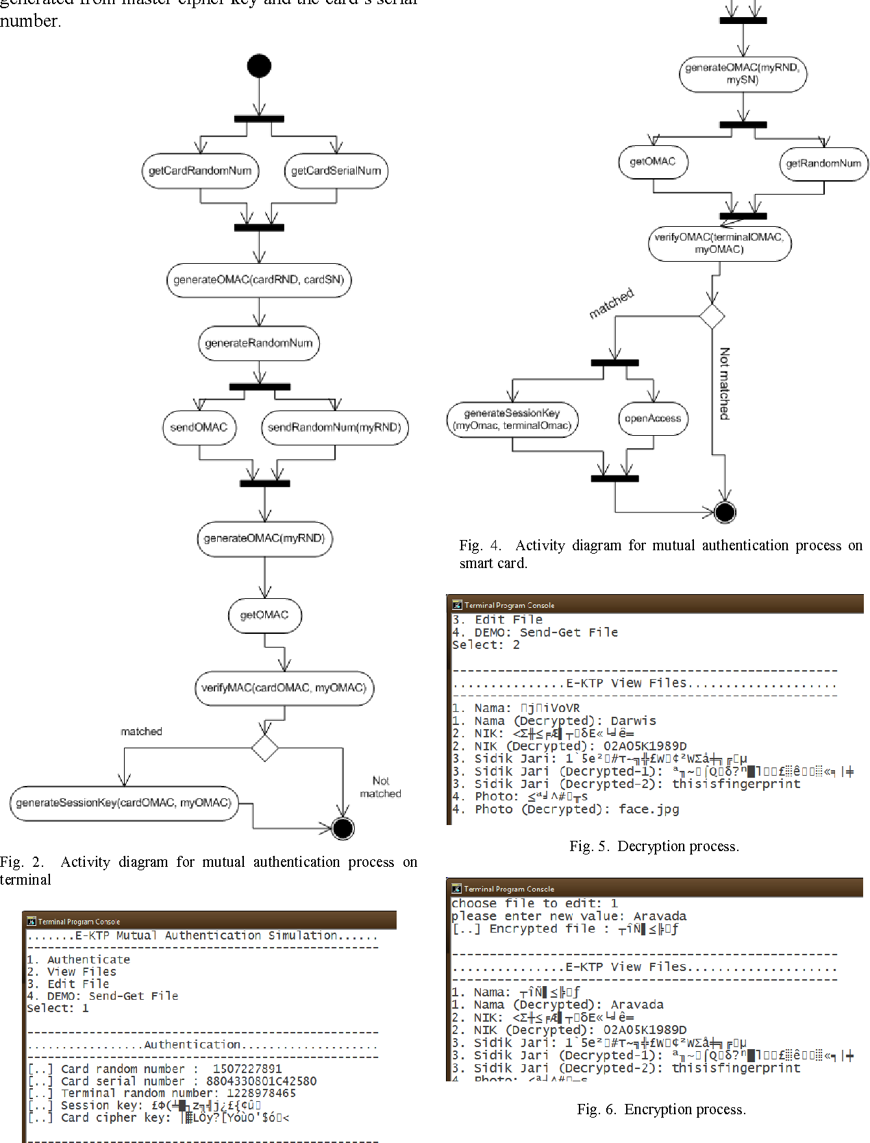 Figure 4 from design and implementation of e ktp indonesian activity diagram for mutual authentication process on smart card ccuart Gallery