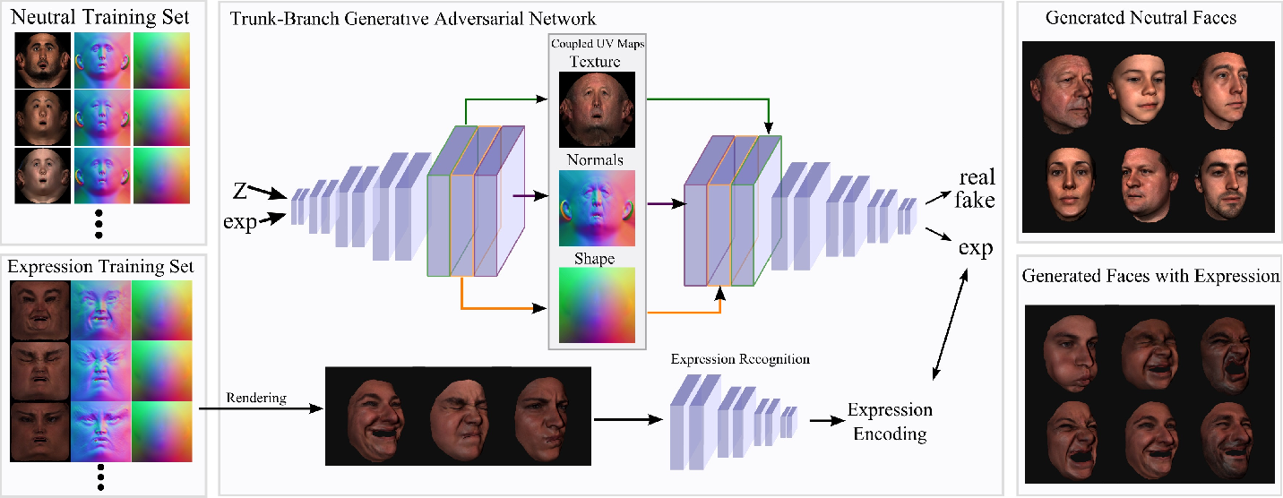 Figure 1 for Synthesizing Coupled 3D Face Modalities by Trunk-Branch Generative Adversarial Networks