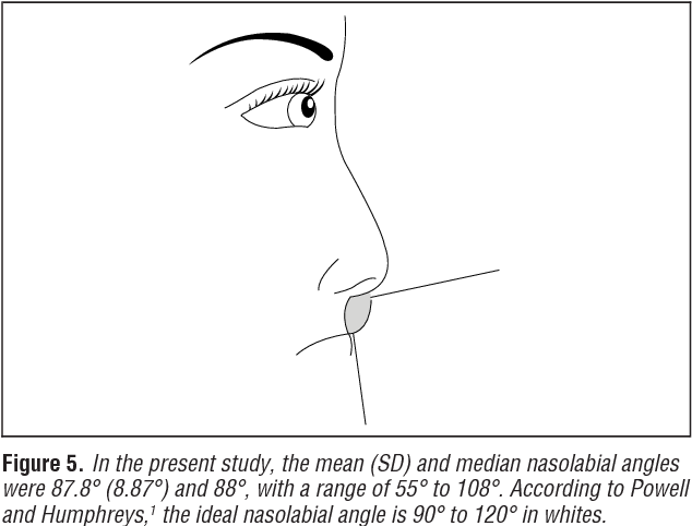 Figure 5 from Comparison of the aesthetic facial proportions of