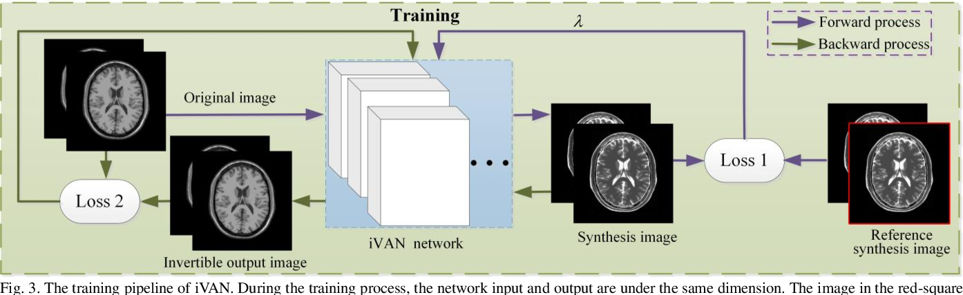 Figure 3 for Variable Augmented Network for Invertible Modality Synthesis-Fusion