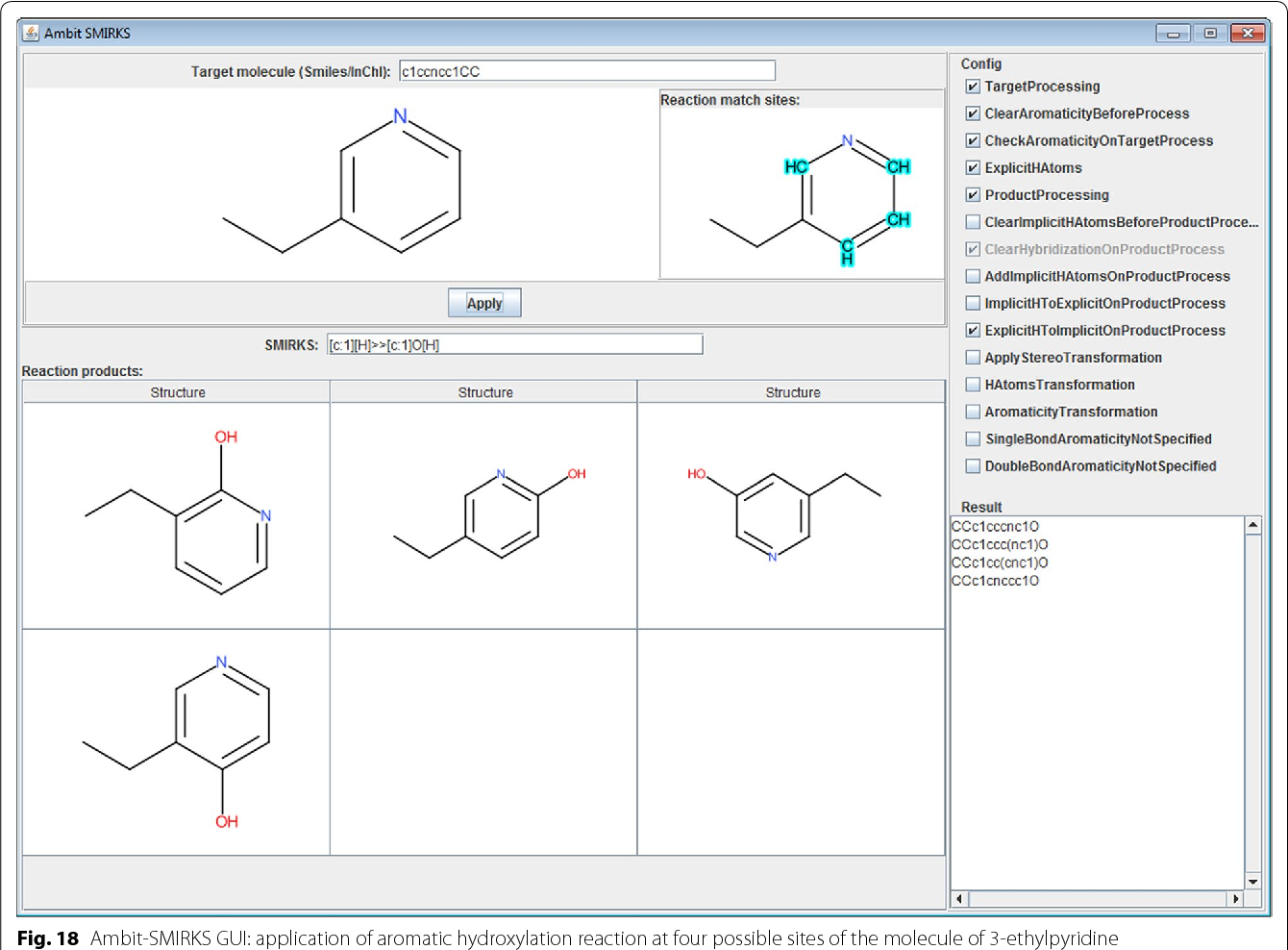 Figure 18 from Ambit-SMIRKS: a software module for reaction