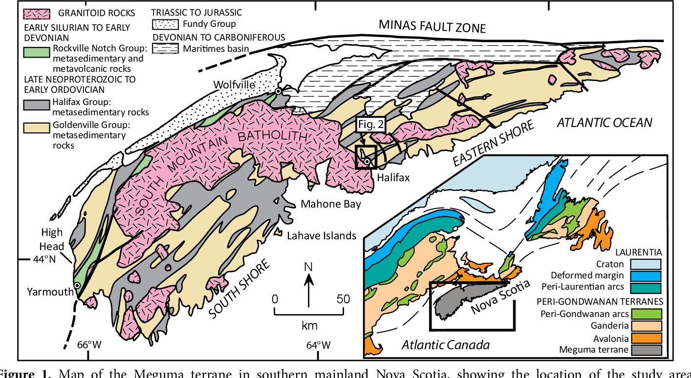 PDF] Sedimentary and tectonic setting of a mass-transport slope