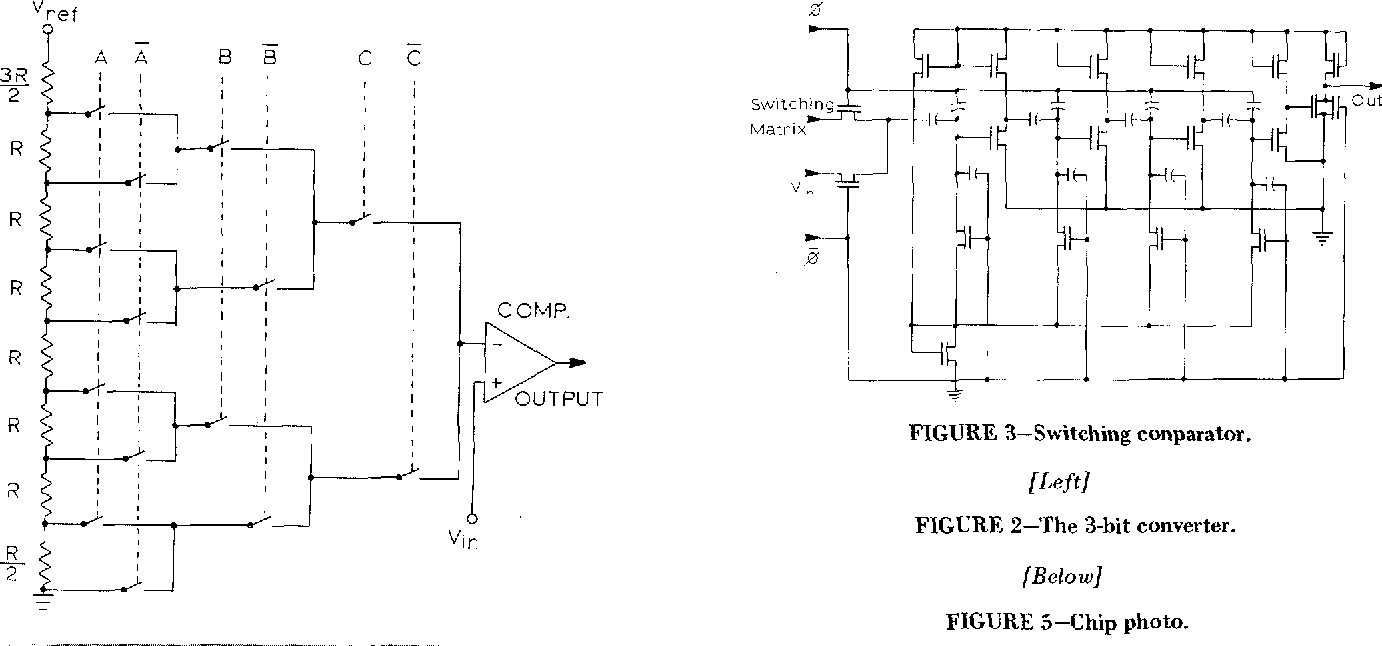 Figure 2 From A Single Chip 8 Bit D Converter Semantic Scholar Comparator Circuit Diagram The 3