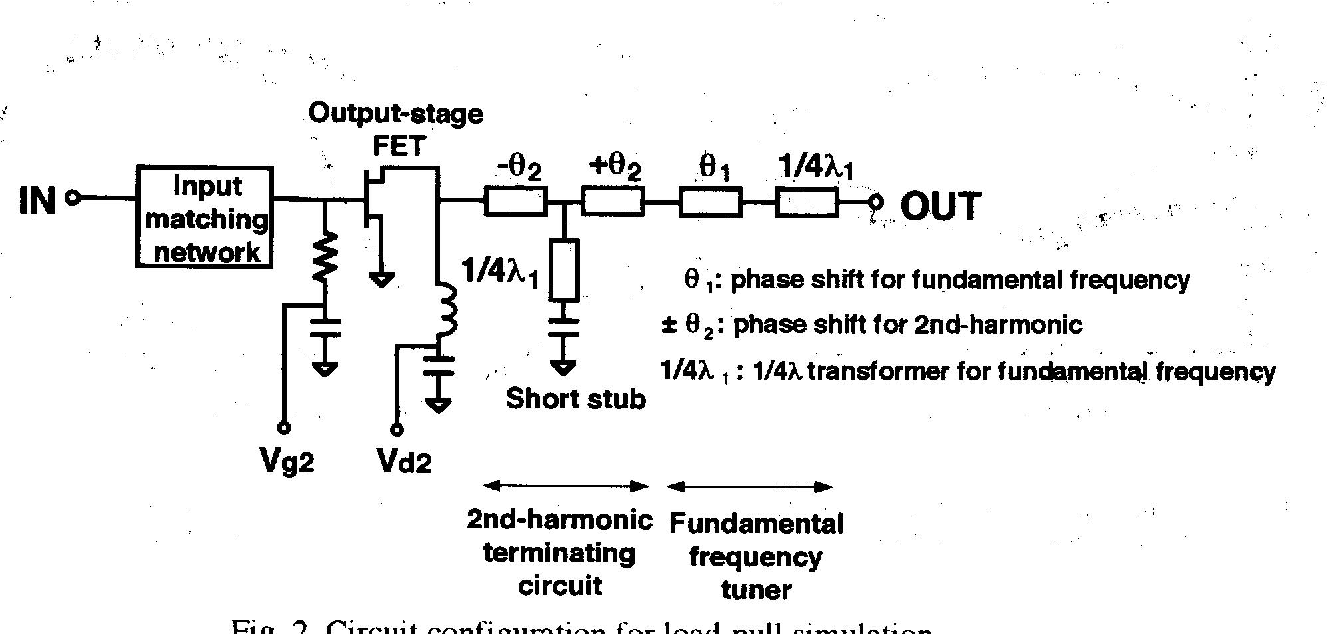 93 1w Power Amplifier Qcr Thermal Fuse Cement Resisrots Sqp Stereo Headphone Based Tda2822 Figure 2 From A 33v Gaas One Chip Mmic For