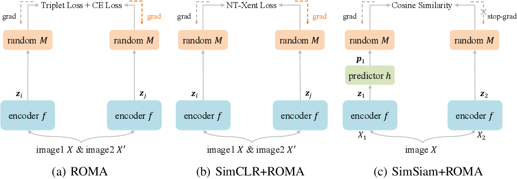 Figure 1 for Triplet is All You Need with Random Mappings for Unsupervised Visual Representation Learning