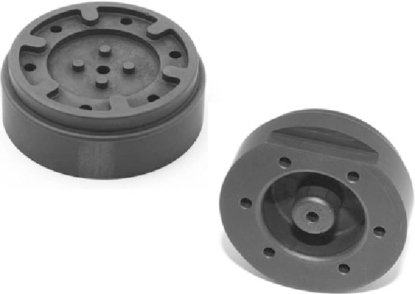 Fig 3 ED Machined ZTA TiC Mold Insert For Injection Molding Diameter