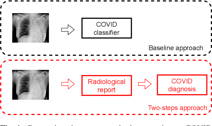 Figure 1 for A two-step explainable approach for COVID-19 computer-aided diagnosis from chest x-ray images