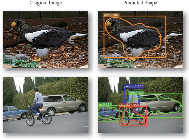 Figure 1 for Explicit Shape Encoding for Real-Time Instance Segmentation