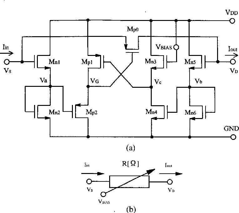 Variable Resistor Schematic