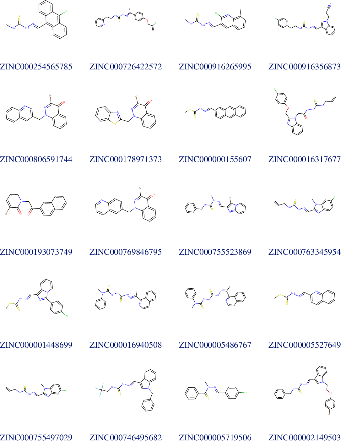 Figure 2 for Large-scale ligand-based virtual screening for SARS-CoV-2 inhibitors using deep neural networks