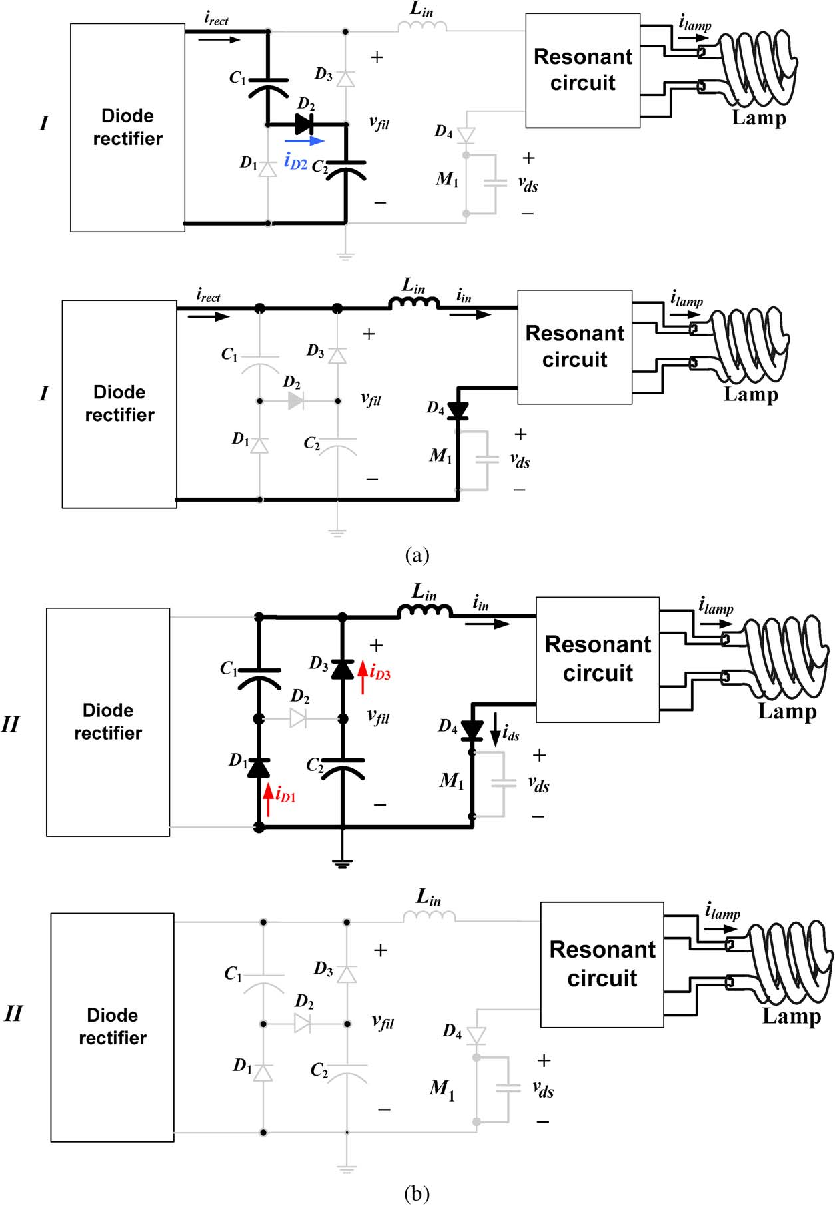 A Single Switch Valley Fill Power Factor Corrected Electronic Choke Circuit Diagram For 40w Tube Light Ballast Compact Fluorescent Lightings With Improved Lamp Current Crest Semantic