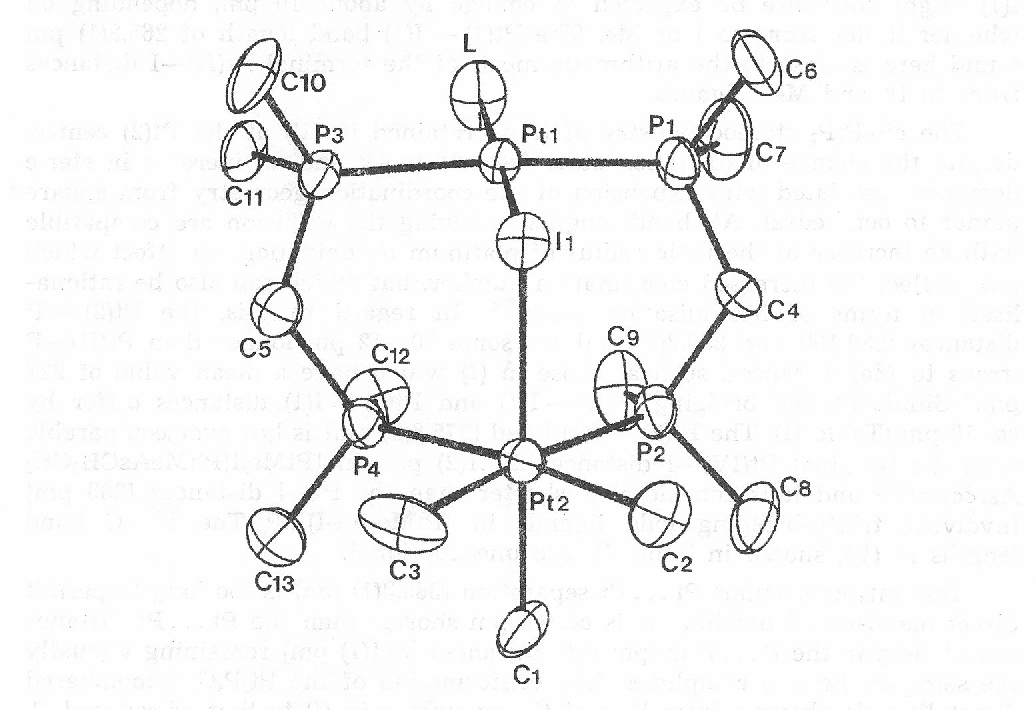 Figure 1 From A Novel Ptii Ptiv Mixed Valence Complex The