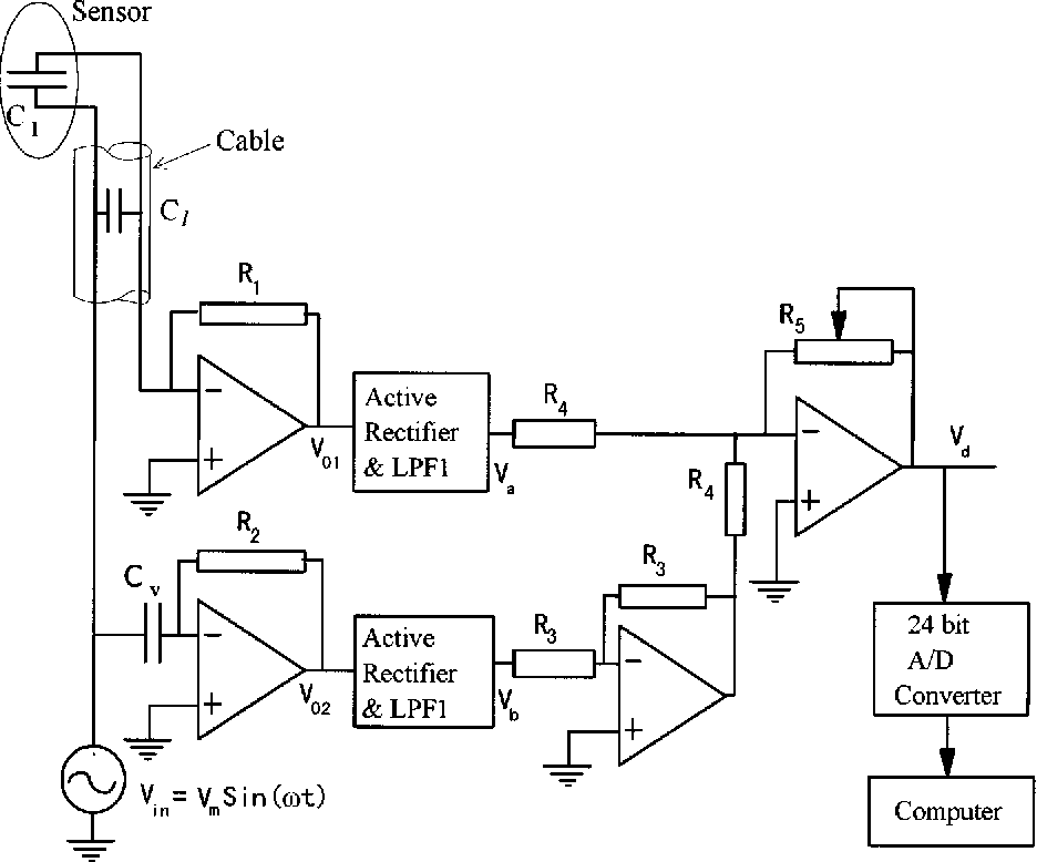 A Simple Interface Circuit To Measure Very Small Capacitance Changes