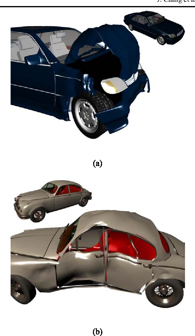 Modelling deformations in car crash animation - Semantic Scholar