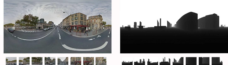 Figure 1 for Monocular Urban Localization using Street View
