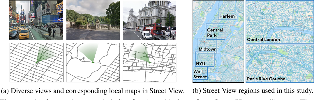 Figure 1 for Learning to Navigate in Cities Without a Map