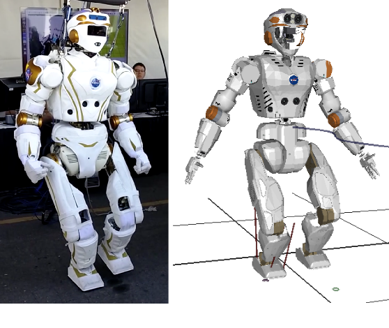 Figure 1 for Robust Dynamic Locomotion via Reinforcement Learning and Novel Whole Body Controller