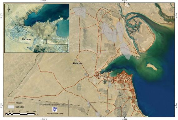 Seasonal Influence on the Ambient Air Quality in Al Jahra City for