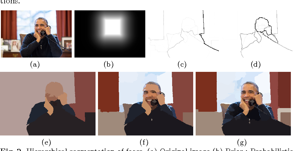 Figure 2 for Prior-based Hierarchical Segmentation Highlighting Structures of Interest