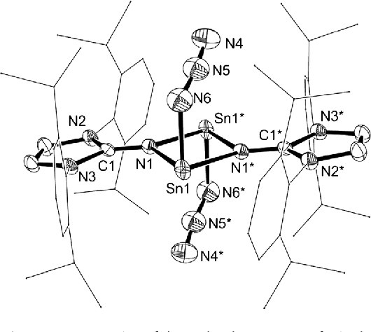 Figure 3 From Formation Of An Imino Stabilized Cyclic Tinii Cation