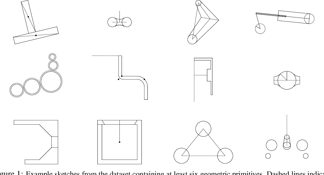 Figure 1 for SketchGraphs: A Large-Scale Dataset for Modeling Relational Geometry in Computer-Aided Design