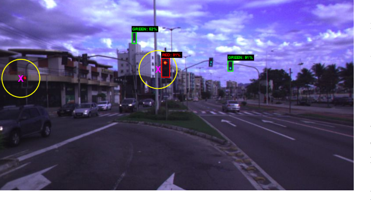 Figure 1 for Traffic Light Recognition Using Deep Learning and Prior Maps for Autonomous Cars