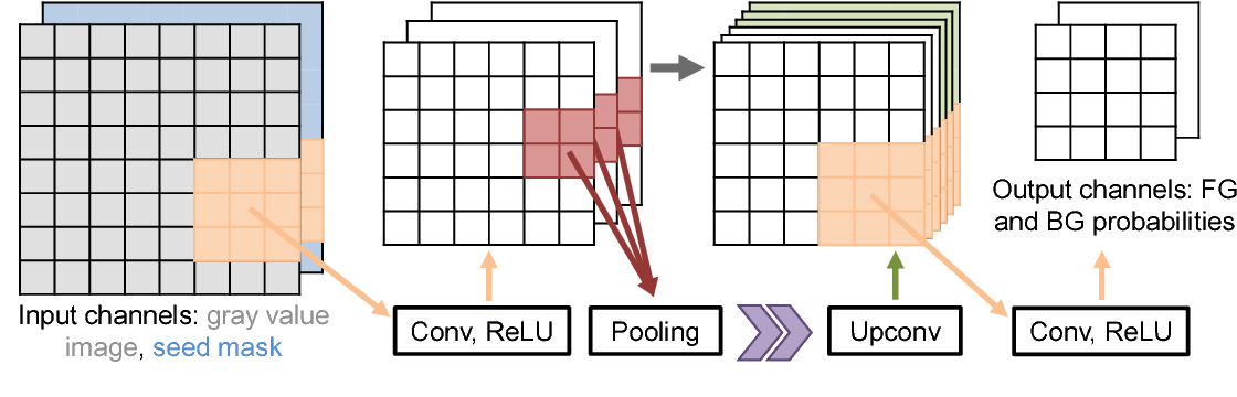Figure 4 for UI-Net: Interactive Artificial Neural Networks for Iterative Image Segmentation Based on a User Model