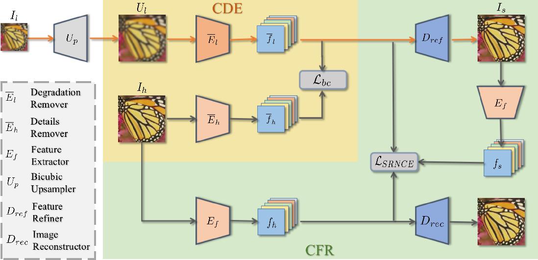 Figure 1 for Blind Image Super-Resolution via Contrastive Representation Learning