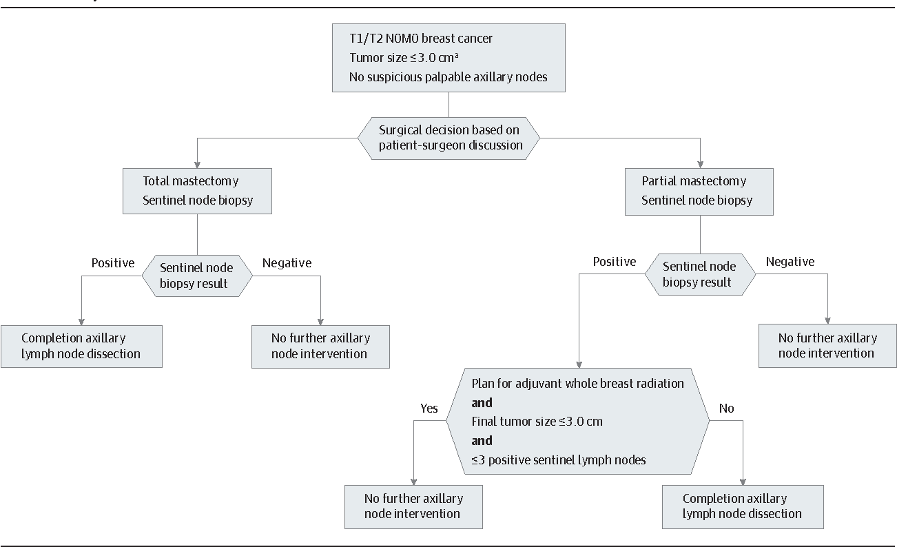 Axillary Node Interventions In Breast Cancer A Systematic Review