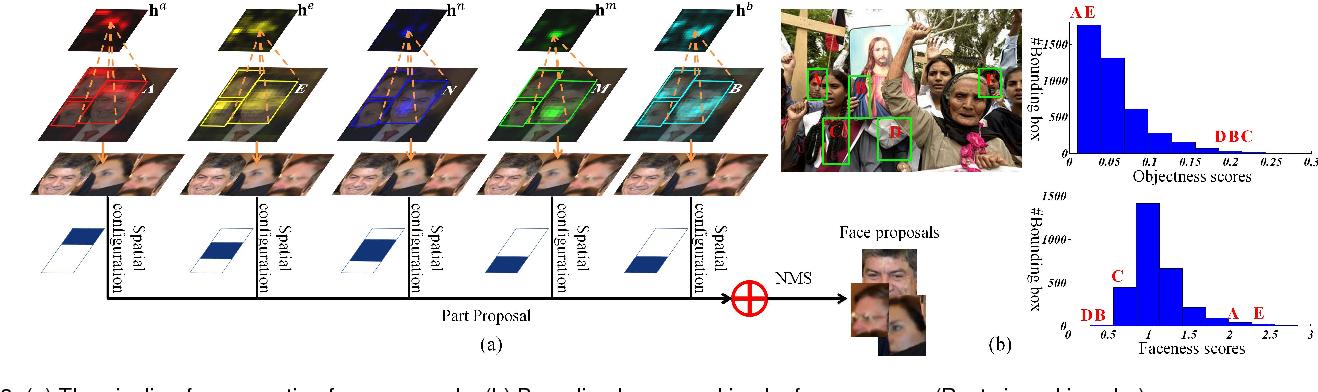 Figure 4 for Faceness-Net: Face Detection through Deep Facial Part Responses