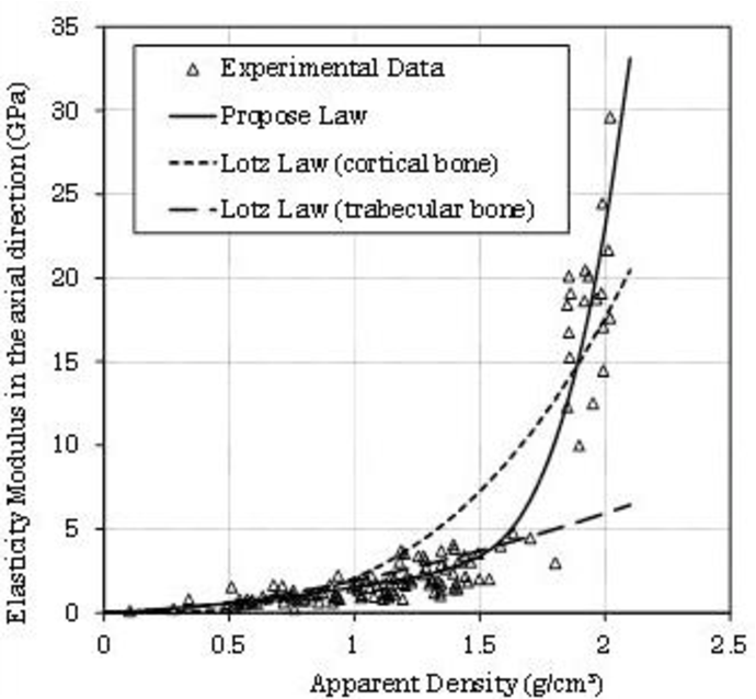 The osteointegration numerical prediction of a femur stem using a