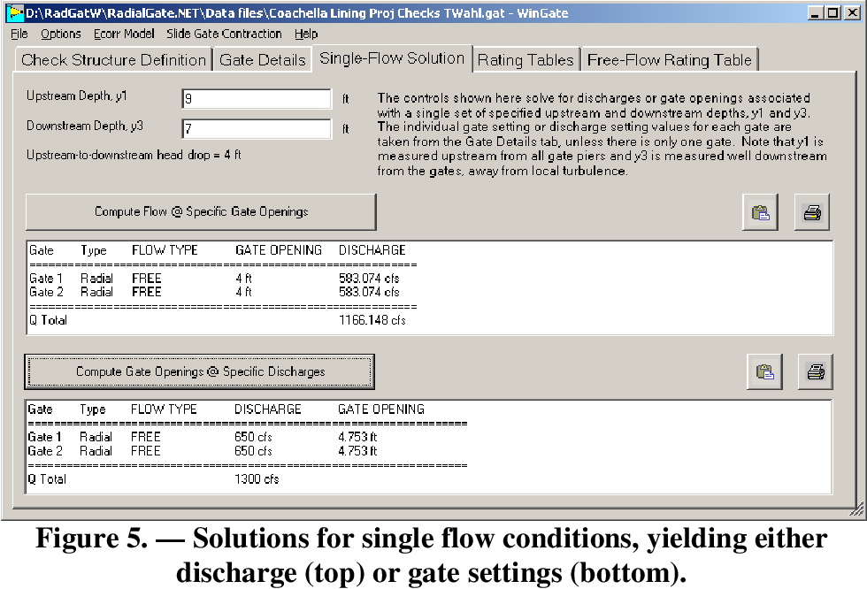 PDF] WinGate Software for Discharge Calibration of Gated