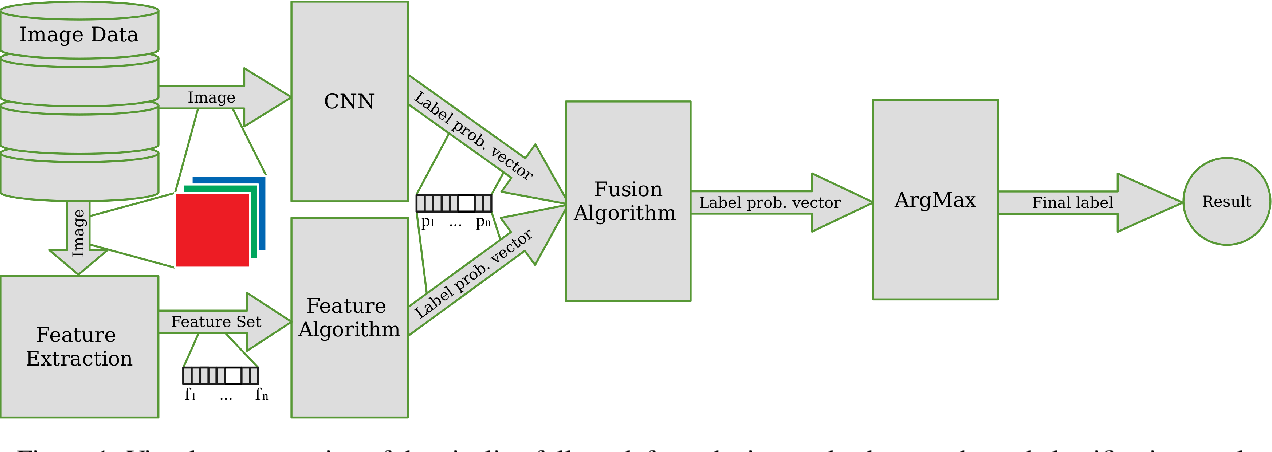 Figure 1 for Fusion of CNNs and statistical indicators to improve image classification