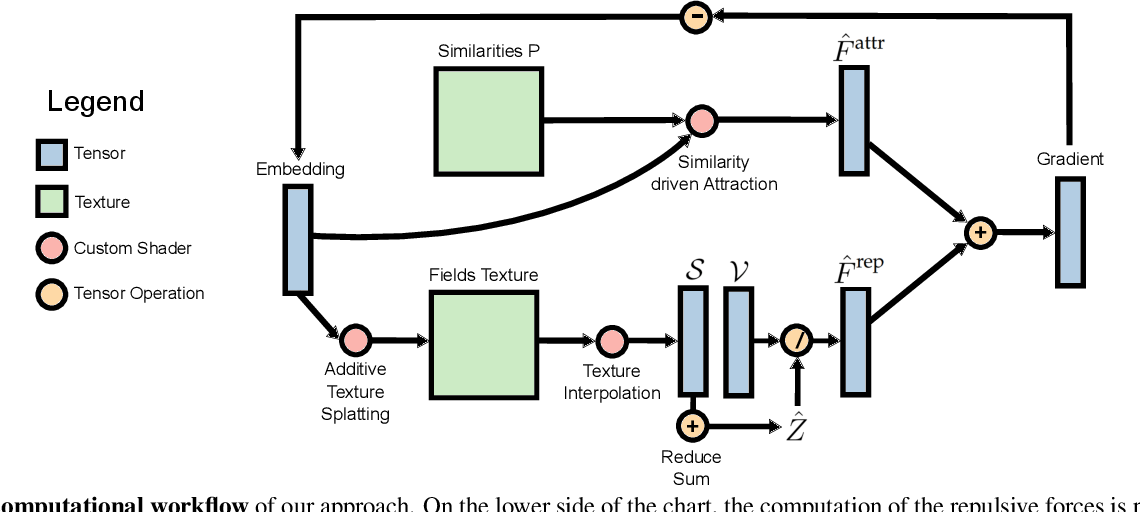 Figure 4 for Linear tSNE optimization for the Web