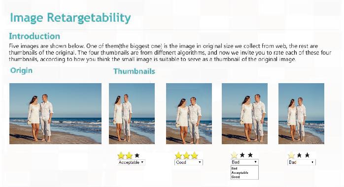 Figure 4 for Image Retargetability