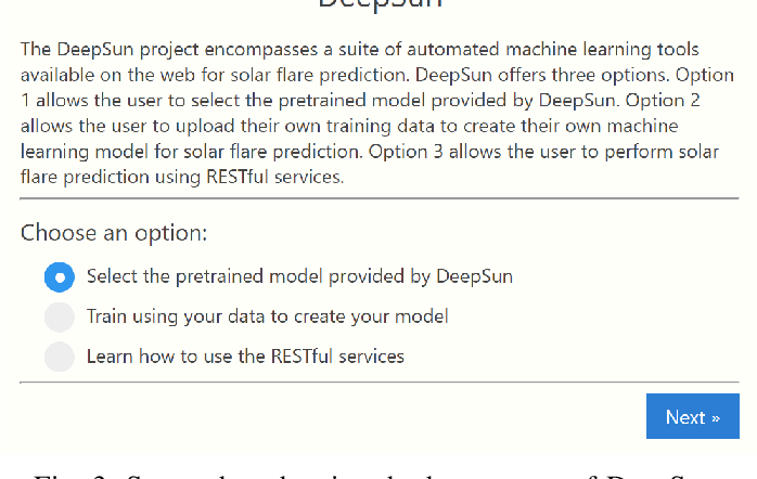 Figure 3 for DeepSun: Machine-Learning-as-a-Service for Solar Flare Prediction