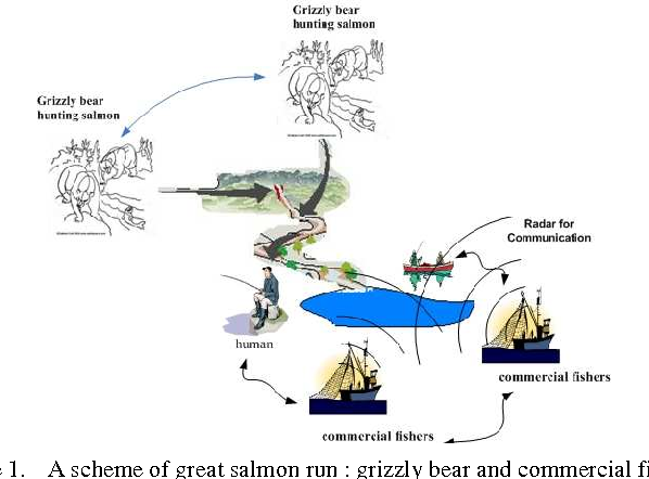 Figure 1 for A natural-inspired optimization machine based on the annual migration of salmons in nature